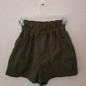 High rise Urban shorts
